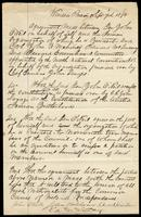 Minutes of a Committee appointed by the Ninth National Convention of the Fenian Brotherhood dated September 7, 1870, Windsor Prison [Vermont], and signed by John O'Neill, John O'Mahony, Edward Connihan, and Edward McSweeney