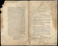 Fenian Brotherhood Circular signed by Anthony A. Griffin, September 19, 1867