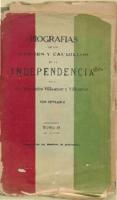 Book on the heroes of the Independence of Mexico, n.d.