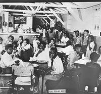 African American children at a USO function, Las Vegas, Nevada, ca. 1942-1946