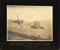 "The ""Edward F"" Shaft, dumps and mill"