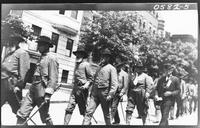 Confederate veterans participating in a parade