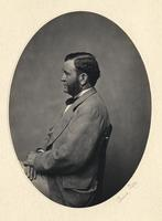 Profile portrait of Ulysses Simpson Grant