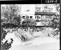 Draft parade in honor of the selective draft men, headed by President Wilson