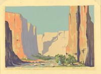 Canyon de Chelley - Near Gallup - N. M.