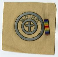 National Catholic War Council Patch, ca. 1919
