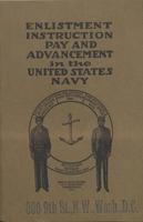 Booklet: 'Enlistment Instruction Pay and Advancement in the United States Navy,' 1917