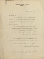 A, Surveys, Memoranda, 1918