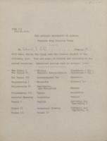 E, Surveys, Memoranda, 1918