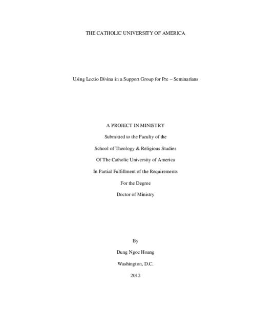 Dmin dissertation abstracts